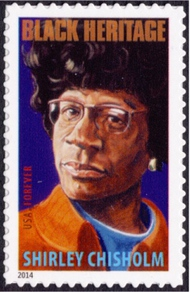 4856 Forever Shirley Chisholm Mint NH Single 4856nh