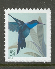 4857 34c Hummingbird Mint NH Single 4857nh