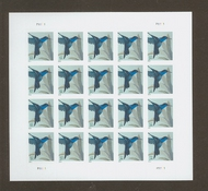 4857 34c Hummingbird Mint NH Sheet of 20 4857sh
