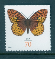 4859 70c Fritillary Butterfly Mint NH Single 4859nj