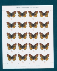 4859 70c Fritillary Butterfly Mint NH Sheet of 20 4859sh