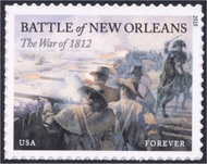 4952 (49c) War of 1812 New Orleans Mint Single 4952nh