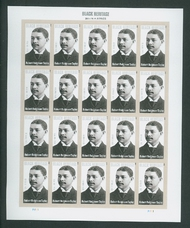 4958i (49c) Robert Robinson Taylor Imperf Mint Sheet of 20 4958ish