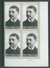4958 (49c) Robert Robinson Taylor Mint Plate Block of 4 4958pb