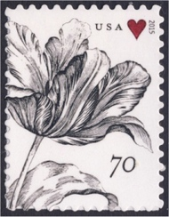 4960 70c Vintage Tulip Mint Single 4960nh