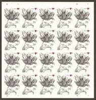 4960 70c Vintage Tulip Mint Sheet of 20 4960sh