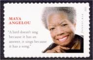 4979 (49c) Maya Angelou Mint Single 4979nh