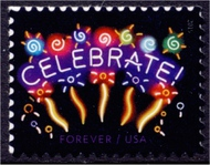 5019 Neon Celebrate, Reprint Dated 2015 Used 5019nh