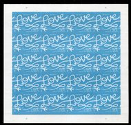 5155 Forever Love Skywriting Sheet of 20 5155sh