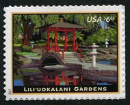 5156 $6.65 Lili'uokalani Gardens Mint Single 5156nh
