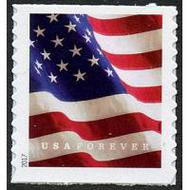 5158 Forever U.S. Flag BCA Coil Mint Single 5158nh