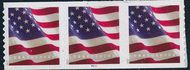 5159 Forever U.S. Flag APU Coil Mint PNC of 3 5159pnc3