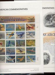 3142 32c Classic Aircraft USPS Cat 516 Commemorative Panel cp516