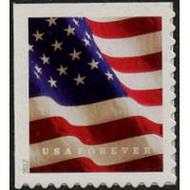 5160 Forever U.S. Flag BCA from Booklet Mint Single 5160nh