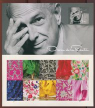 5173 Oscar de la Renta, Souvenir Sheet of 11 5173ss