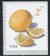 5256 2c Meyer Lemons, Coil Mint Single 5256nh