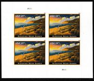 5258 $24.70 Sleeping Bears Dunes Express Mail Sheet of 4 5258sh