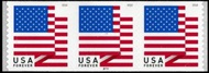 5261 Forever U.S. Flag 2018 BCA Coil PNC of 3 5261pnc3