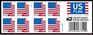 5262a Forever U.S. Flag 2018 APU Double Sided Booklet of 20 5262a