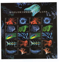 5264-73 Bioluminescent Life Mint Sheet of 20 5273sh