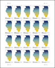 5274 Forever Illinois Statehood Mint Sheet of 20 5274sh