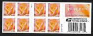 5280a Forever Peace Rose Double Sided Booklet of 20 5280a