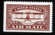 5282 Forever Airmail Red Mint Single 5282nh
