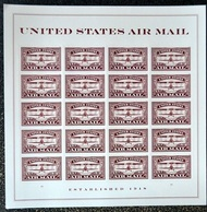 5282 Forever Airmail Red Mint Sheet of 20 5282sh