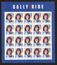 5283 Forever Sally Ride, Astronaut Mint Sheet of 20 5282sh