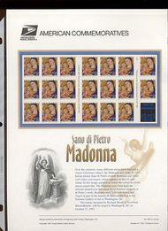 3176a 32c Madonna Self Adhesive -Bkt. Pane 20  USPS Cat. 529 cp529