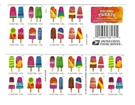 5285-94b Forever Frozen Treats Double Sided Booklet of 20 5293b