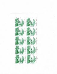 5295 $1 Statue of Freedom Mint Sheet of 10 5295sh