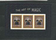 5306 Forever Art of Magic Mint Souvenir Sheet of 3 5306ss