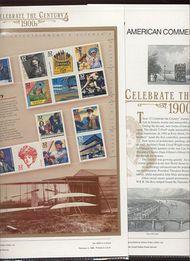 3182 1900's Celebrate The Century USPS CAT 533A  Commemorative Panel cp533a