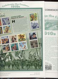 3183 1910's Celebrate The Century USPS CAT 533B  Commemorative Panel cp533b