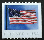 5342 Forever Flag Coil AP Mint  Single 5342nh