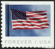 5344 Forever Flag AP Booklet Mint Single 5344nh