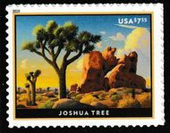 5347 $7.35 Joshua Tree Mint  Single 5347nh