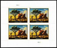 5347 $7.35 Joshua Tree Mint Sheet of 4 5347sh