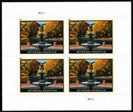 5348 $25.50 Bethesda Fountain Mint Sheet of 4 5348sh