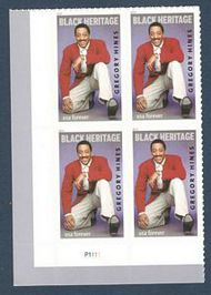 5349 Forever Gregory Hines Plate Block of 4 5349pb
