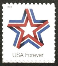 5361 Forever Star Ribbon Mint Single 5361nh