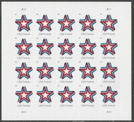 5361 Forever Star Ribbon Mint Sheet of 20 5361sh