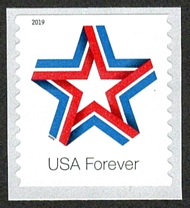 5362 Forever Star Ribbon Mint Coil Single 5362nh