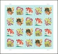 5363-66 (35c) Coral Reefs Mint Sheet of 20 5363-6PB