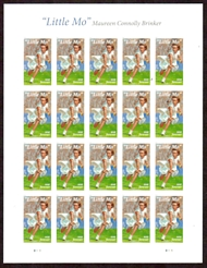 5377 Forever Maureen Little Mo Connolly Brinker Mint Sheet of 20 5377-sh
