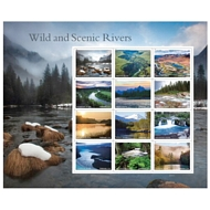 5381 Forever Wild Scenic Rivers Sheet of 12  5381sh