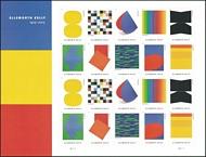 5382-91 Forever Ellsworth Kelly Sheet of 20 5382-91sh