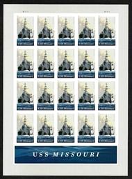 5392 Forever USS Missouri Mint Sheet of 20 5392sh