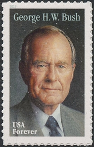 5393 Forever George H.W. Bush Mint  Single 5393nh